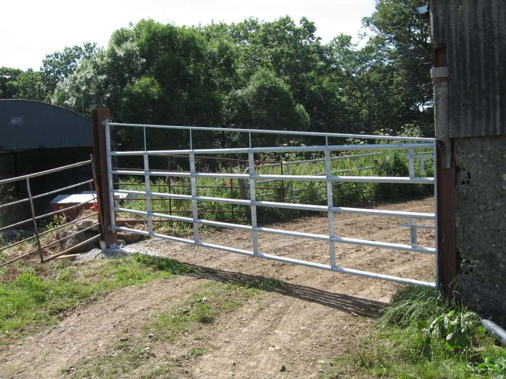 20ft gate with brace